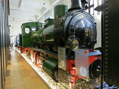 Prussian G3, 3143, on display in the DB museum, Nürnberg - 03/01/17.