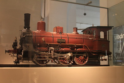 """1:10 model 0-6-0 """"Ceres"""" on display in the DB museum, Nürnberg - 03/01/17."""