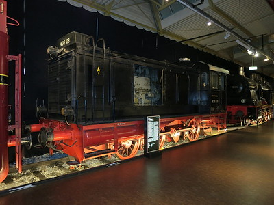 DB V36 108, on display in the DB museum, Nürnberg - 03/01/17.