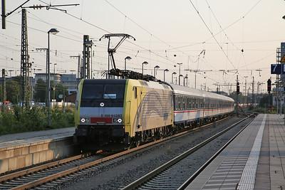 Lokomotion 189912 arr München Ost, M79060 06.29 Kufstein-München - 08/09/17