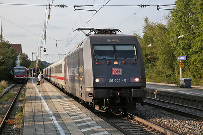 DB 101004, Prien am Chiemsee, EC219 13.58 Stuttgart-Salzburg - 08/09/17
