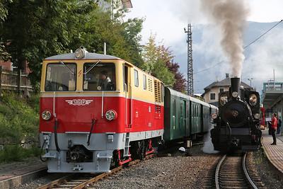 SLB 2095.01 / 73019, Zell am See, 09.20 / 09.25 'Nostalgiezugs' to Krimml - 09/09/17