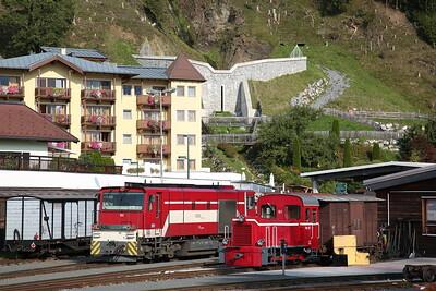SLB Vs82 & Vs51, Zell am See depot - 09/09/17