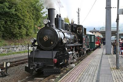 SLB 73019, Zell am See, 3390 09.20 'Nostalgiezug' to Krimml - 09/09/17