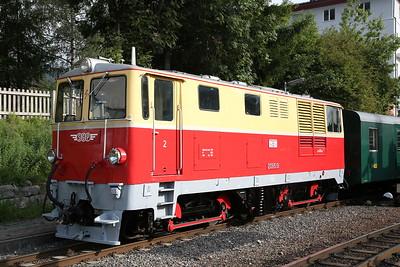 SLB 2095.01, Zell am See, 900 09.25 'Nostalgiezug' to Krimml - 09/09/17