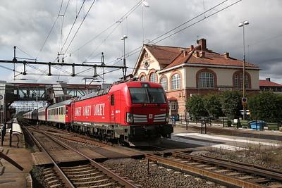 German & Swedish Railways, 5th-7th August 2017