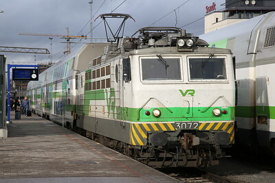 VR Sr1 3072, Tampere, IC468 14.15 ex Pori - 04/10/17