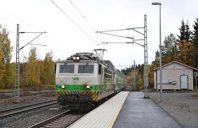 VR Sr1 3033 arr Karkku, IC470 16.15 Pori-Tampere - 04/10/17