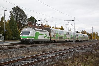 VR Sr2 3209, Karkku, IC175 14.04 Helsinki-Pori - 04/10/17