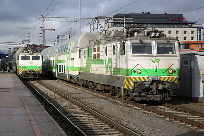VR Sr1 3072 / Sr1 3070, Tampere, IC468 14.15 ex Pori / standby set - 04/10/17
