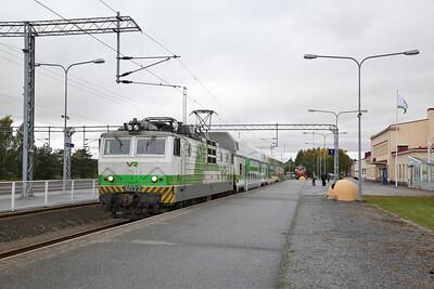 VR Sr1 3072, Pori, IC468 14.15 to Tampere - 04/10/17