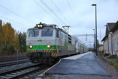 VR Sr1 3108, Nokia, IC471 18.15 Tampere-Pori - 04/10/17