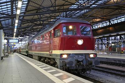 EBS 232334, Erfurt Hbf, RE16996 08.14 'Sonderzug'  to Goslar - 10/12/17.