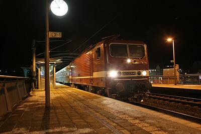 HLP 143005, Jena Paradies, DPE25551 17.45 Nϋrnberg-Leipzig 'Sonderzug' - 09/12/17.