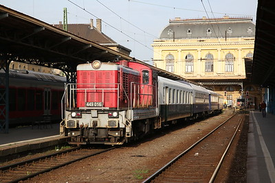 NTK 449016, Budapest Keleti, 13102 PTG 'The Great Hungarian Track Bash' Day 1 - 27/04/17.
