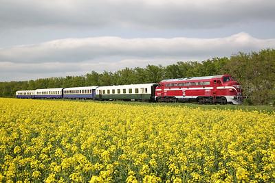 Hungarian Railways, PTG Tour, 27th April-1st May 2017