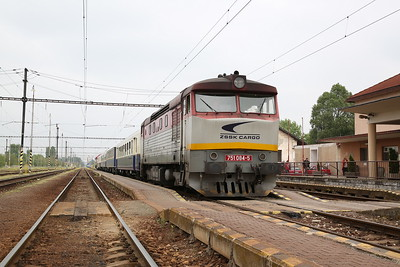 ZSSKC 751084, Komárno, 13102 PTG 'The Great Hungarian Track Bash' Day 1 - 27/04/17.