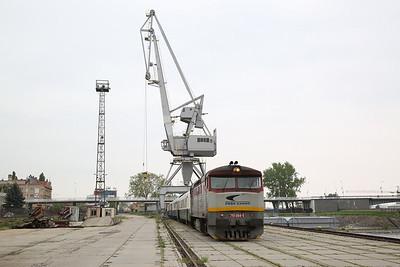 ZSSKC 751084, Komárno docks, 13102 PTG 'The Great Hungarian Track Bash' Day 1 - 27/04/17.