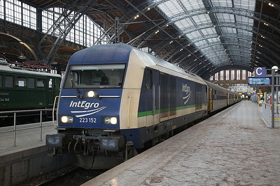 PRESS 223152, Leipzig Hbf, RE81288 09.20 to Chemnitz - 03/02/17.