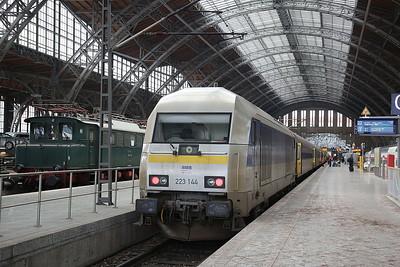 TDRO 223144, Leipzig Hbf, RE81291 09.31 ex Chemnitz - 03/02/17.