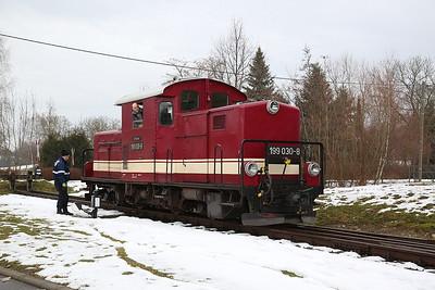 DBG 199030, Glossen bei Oschatz, running round - 03/02/17.
