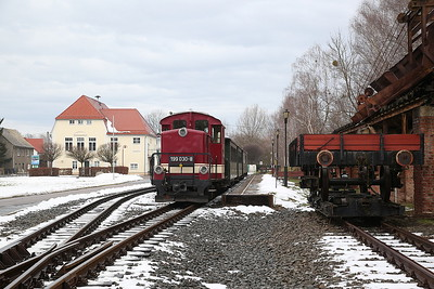 DBG 199030, Glossen bei Oschatz, DBG107 14.14 to Oschatz - 03/02/17.