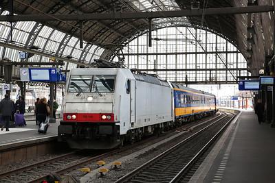 NS 186149, Amsterdam C.S., IC1027 12.28 ex Rotterdam - 19/03/17.