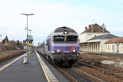 SNCF 72190, Romilly sur Seine (additional stop), 1543 13.12 Paris Est-Belfort - 28/01/17.