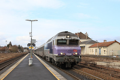 SNCF 72190, Romilly sur Seine (additional stop), 1543 13.12 Paris Est-Belfort - 28/01/17.