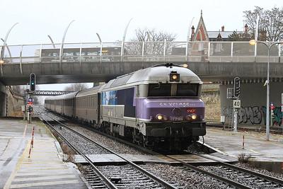 SNCF 72189 arr Troyes, 1542 08.20 Belfort-Paris Est - 28/01/17.