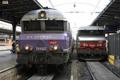 SNCF 72189, Paris Est, 1542 08.20 ex Belfort .... 15021 is on ECS duty - 28/01/17.