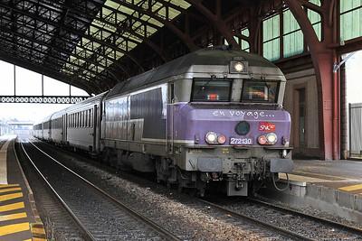 SNCF 72130, Troyes, 1641 08.42 Paris Est-Veseul - 28/01/17.