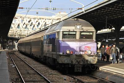 SNCF 72121, Paris Est, 11742 14.12 ex Troyes - 28/01/17.
