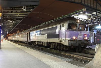 SNCF 72179, Paris Est, 1640 18.08 ex Belfort - 27/01/17.