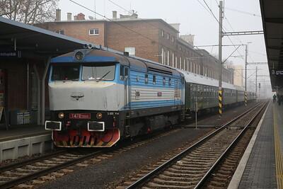 "KŽC 749259, Olomouc hL, R10003 Grumpy Railtours ""The West Slovakia Winter Cargo Tour"" - Day 1 - 03/02/18"