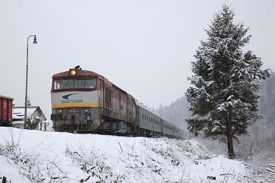 Czech & Slovak Railways, 2nd-6th Feb 2018