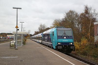 German Railways, 10th-12th November 2018