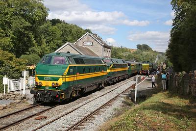 German, Belgian & Dutch Railways, 9th-13th August 2018