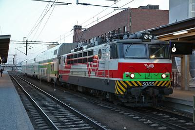 VR Sr1 3066, Tampere, IV475 22.07 to Pori - 19/04/18