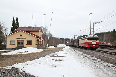 """VR Dr13 2343, Soulahti, MUS1921 BLS """"Central/Northern Finland Freight Line Railtour"""" Day 1 - 20/04/18"""