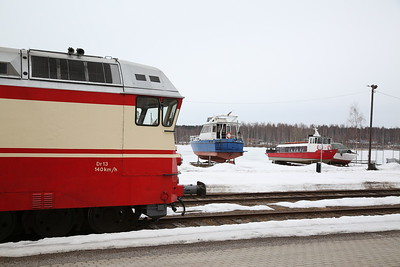 """VR Dr13 2343, Soulahti Satama, MUS1921 BLS """"Central/Northern Finland Freight Line Railtour"""" Day 1 - 20/04/18"""