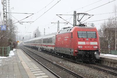 DB 101135 dep Prien am Chiemsee, EC218 05.36 Graz-München - 20/02/18