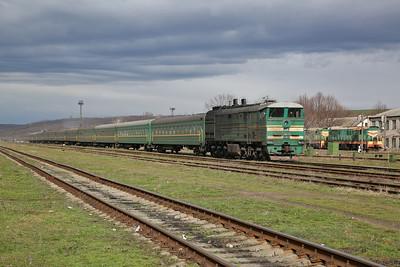 Moldovan, Romanian & Ukrainian Railways, 28th March-2nd April 2018