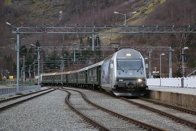 Norwegian Railways,  29th December 2018-1st January 2019