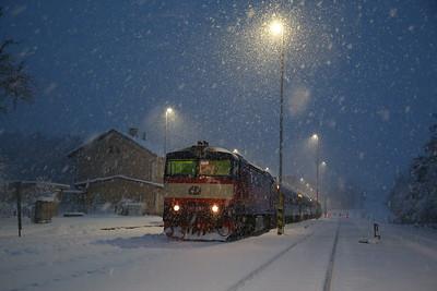 Czech Railways, 2nd-5th Feb 2019