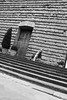 2CS7O0176 From The Hip Girl on Stairs Florence 2014 BW