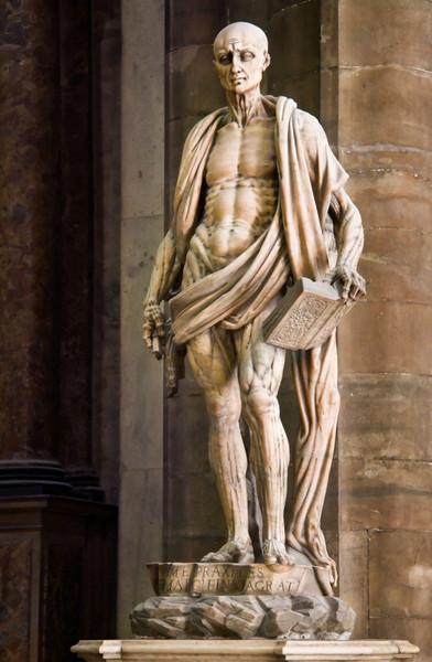 <font size=+2>St. Bartholomew</font>  Duomo Milano, Italy <font size=-1>(5-04582)</font>