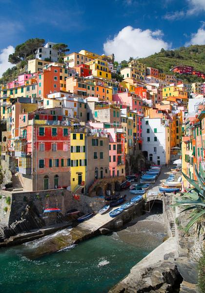 <font size=+2>Riomaggiore</font>  Cinque Terre, Italy <font size=-1>(-05540)</font>