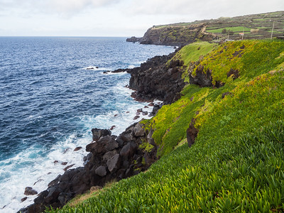Southern coast of Terceira