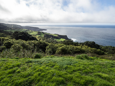 Western coast of Terceira